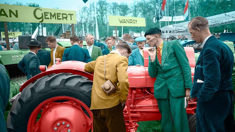 Kranz Collins-boeren op de beurs 1200px
